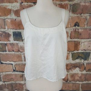 Nygard Collection Tank Top Cami Shell Off White 10